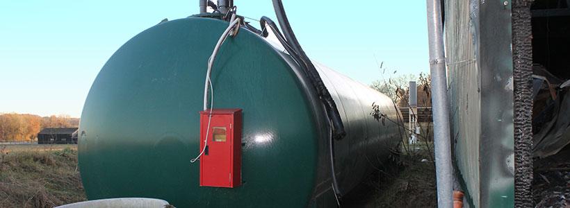 Einbau Tankinnenhülle